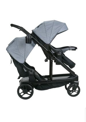 Double stroller uno2duo stroller for Sale in Keller, TX