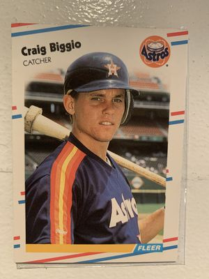 Craig Biggio, Rookie Card for Sale in Morton, IL