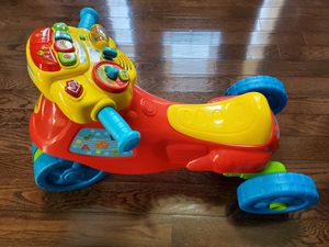 VTech 2-in-1 Learn & Zoom Motorbike for Sale in Charlotte, NC