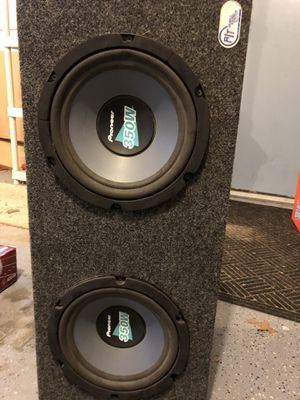 10 inch pioneer subs for Sale in Traverse City, MI