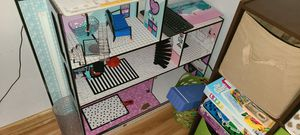 Lol Doll house with dolls and furniture for Sale in Gretna, VA