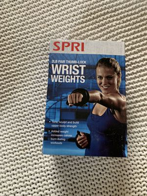 Workout wrist weights 2lbs for Sale in Norman, OK