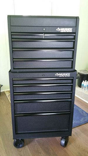 "Husky limited edition tool box like new 26""W×16""D×58""H. for Sale in Marietta, GA"