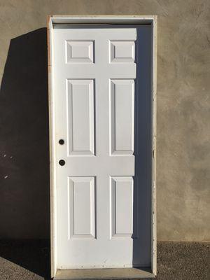 Metal garage door with jamb for Sale in Montville, NJ