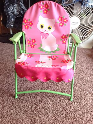 Foldable Kids Chair (Like NEW) for Sale in Vista, CA
