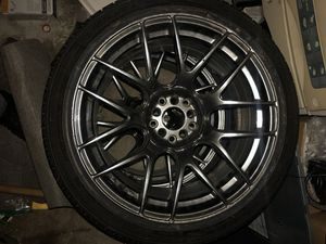 XXR 530 in chromium color 18x9.75 wheels rims tires for Sale in Bellevue, WA