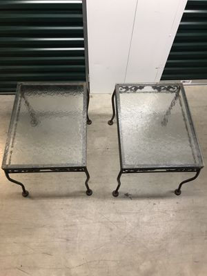 Glass Side Tables for Sale in Gaithersburg, MD