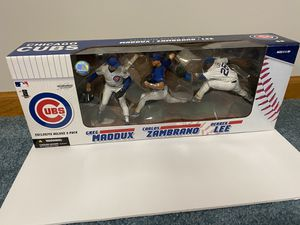 Chicago Cubs McFarlane Exclusive Deluxe 3-Pack for Sale in Olathe, KS