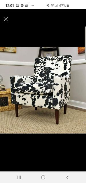 Cow pattern chair for Sale in Georgetown, KY