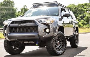 """17""""x8 +5 6x139.7 Matte Black TRD Rims For Toyota 4 Runner for Sale in Hayward, CA"""