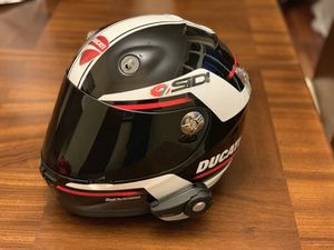 Ducati Corse helmet + Sena Bluetooth for Sale in Alexandria, VA