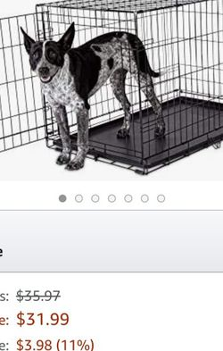 Folding Dog Crate for Sale in Charlotte,  NC