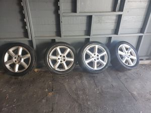 07 Nissan Maxima rims and tires for Sale in Waterbury, CT