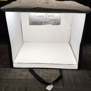 Foldable Photo Studio Box W/LED Lights (Amazon Basic) for Sale in Happy Valley, OR