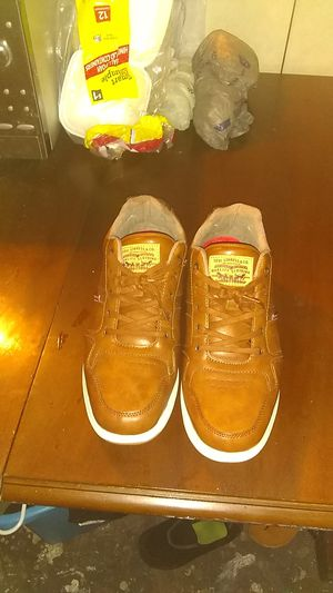 Levi lether shoes for Sale in Tampa, FL