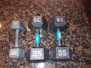 85 lbs of dumbells for Sale in INTRCSION CTY, FL