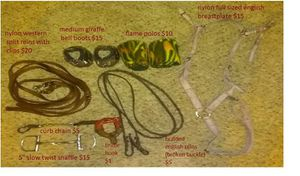 Western and English horse tack for Sale in Angier, NC