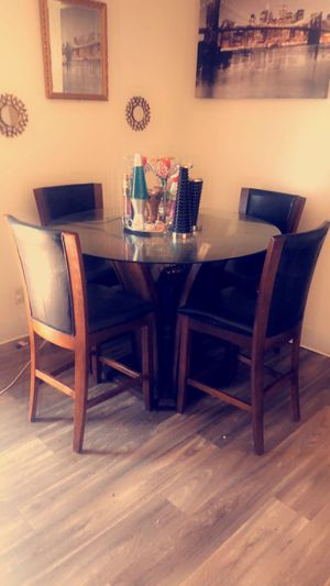 Brown dinner table for Sale in Mesa, AZ