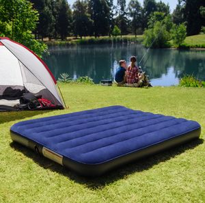 Queen-Size Camping Bed, Inflatable Air Mattress, for Sale in Augusta, GA