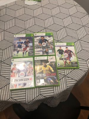 Xbox 360 Fifa soccer games (All in good condition) for Sale in MENTOR ON THE, OH