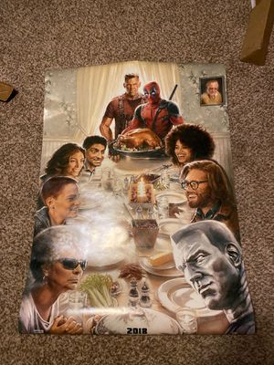 Deadpool 2 Authentic Movie poster for Sale in Golden, CO