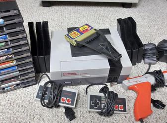 Nintendo NES Console w/Controllers, Games. for Sale in Potomac,  MD