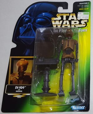 Star Wars Power Of The Force EV-9D9 Action Figure for Sale in Lakewood, WA