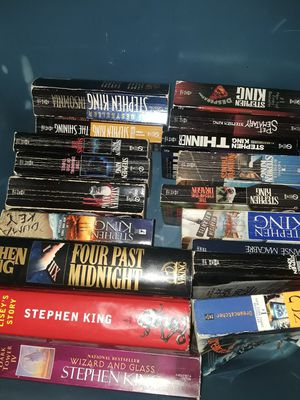 Steven King books for Sale in Los Angeles, CA