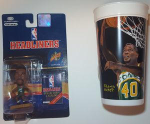 Shawn Kemp Headliners Figure & Collector Cup for Sale for sale  Lakewood, WA