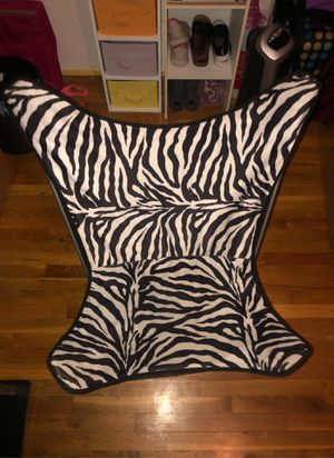 Zebra chair for Sale in Hazelwood, MO