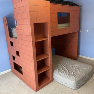 Custom House/Garage Bunk Bed for Sale in Bolingbrook, IL