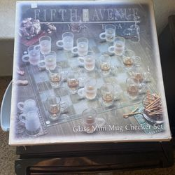 Shot Glass Checkers for Sale in Highland,  CA