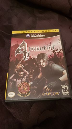 Resident Evil 4 Gamecube for Sale in Charlotte, NC