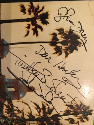 Eagles autographed Hotel California for Sale, used for sale  Wylie, TX