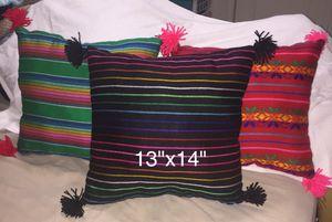 New mexican cushions. $10each!! Visite mi perfil aqui!! for Sale in Cypress, TX