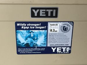 Yeti cooler call or text four o six 4 nine eight 67 four eight for Sale in Butte, MT