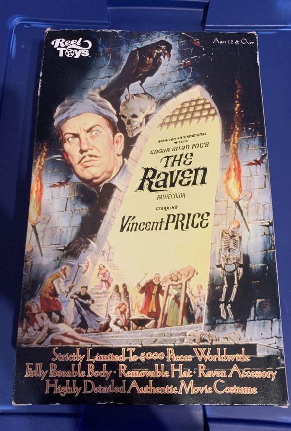 Neca reel Toys Horror Figure the raven