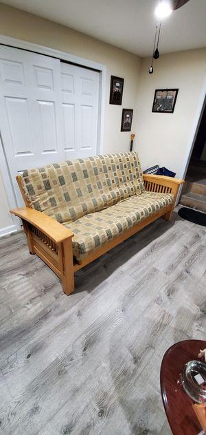 Futon solid wood for Sale in Perth Amboy, NJ