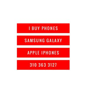Samsung galaxy apple iphones for Sale in Compton, CA