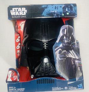 Darth Vader Halloween voice changer helmet for Sale in Dallas, TX