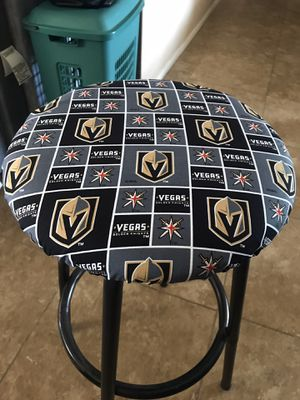 Golden knights Bar stool cover for Sale in Las Vegas, NV