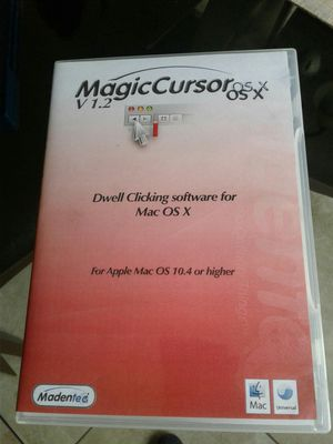 Magic Cursor OS X. / V 1.2. Computer software for Mac. /Never used for Sale in Rialto, CA