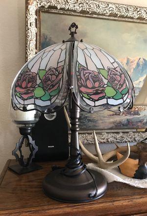 Rose touch lamp *missing lightbulb* for Sale in Lodi, CA