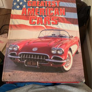 """12"""" By 9"""" Great American Cars Book. for Sale in Phoenix, AZ"""