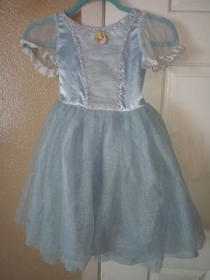 Cinderella dress costume size 4-6 for Sale in Mulberry, FL