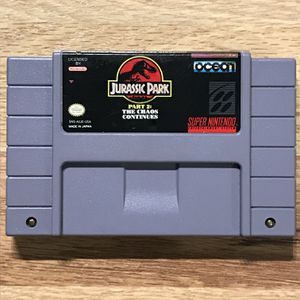 Jurassic Park 2: The Chaos Continues SNES Game for Sale in Banning, CA