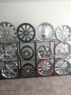 We have a range variety of custom wheels and tires. for Sale in St. Louis, MO