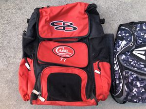 Baseball bag softball bag equipment gear large size backpack boombah gloves bats for Sale in Culver City, CA