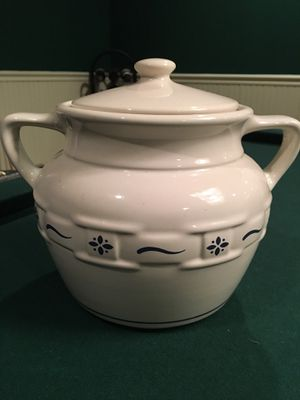 Longaberger Cookie Jar for Sale in Princeton, NJ