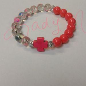 Pink Cross Bracelet for Sale in Leesburg, GA
